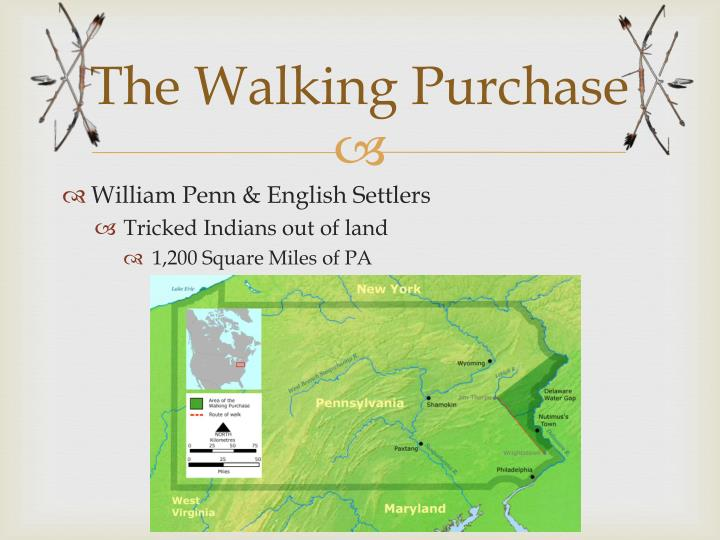 The Walking Purchase