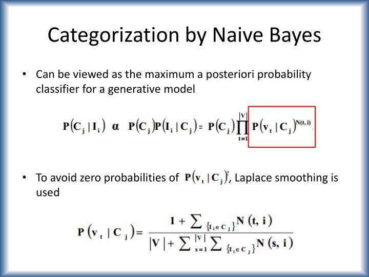 Categorization by Naive