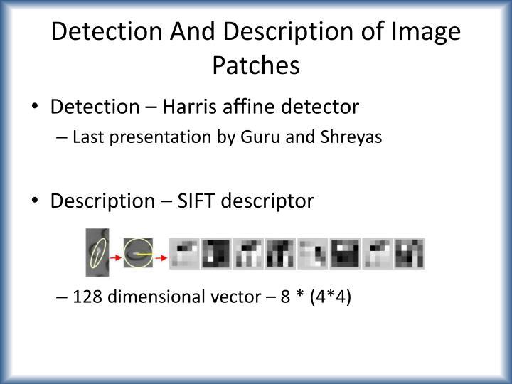 Detection