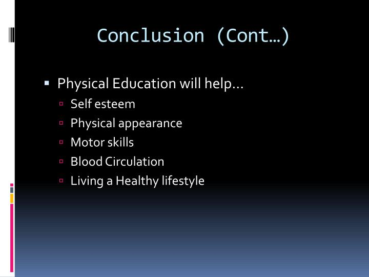 Conclusion (Cont…)