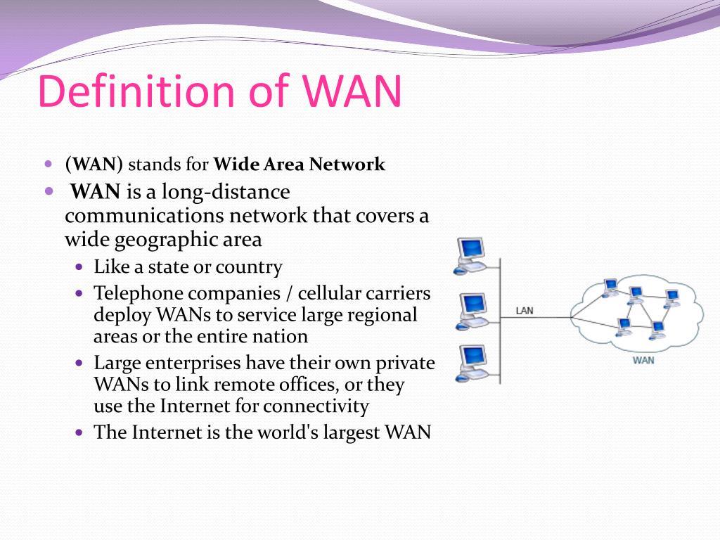 PPT - LAN/WAN PowerPoint Presentation, free download - ID ...