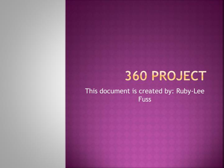 360 project n.