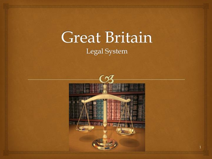 great britain legal system n.