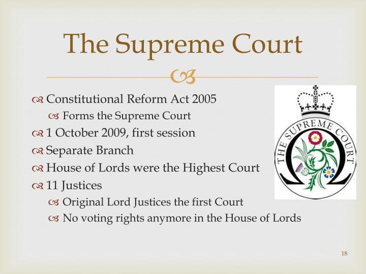 reforms in the constitutional reform bill The british constitution, law reform and the parliamentary legislative reforms that have extended rights and liberties and delimited consti-tutional powers.
