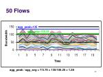 50 flows