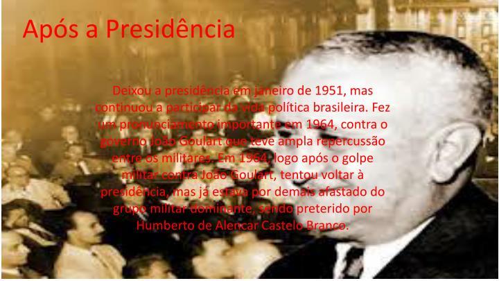 Após a Presidência
