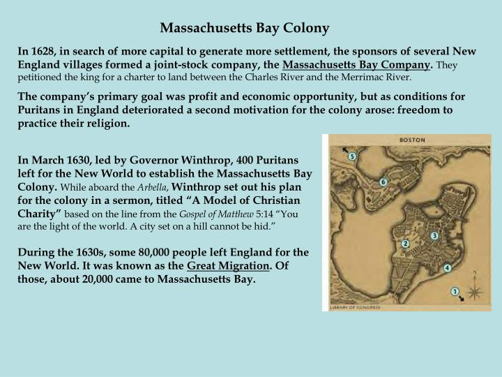 the exteremist views of religion in the case of the puritans of the massachusetts bay colony Opposition to other religious views[edit] the puritans exhibited the puritans of the massachusetts bay colony were the documents similar to puritans summary.