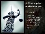 4 trusting god to vindicate you