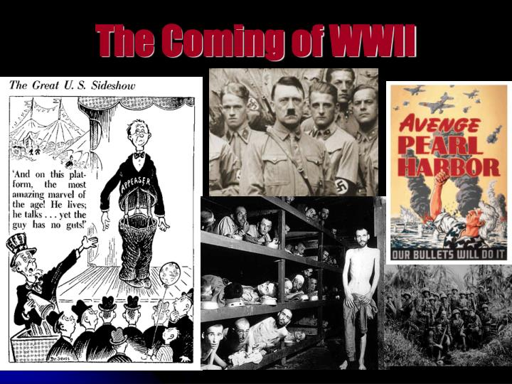 the coming of wwii n.