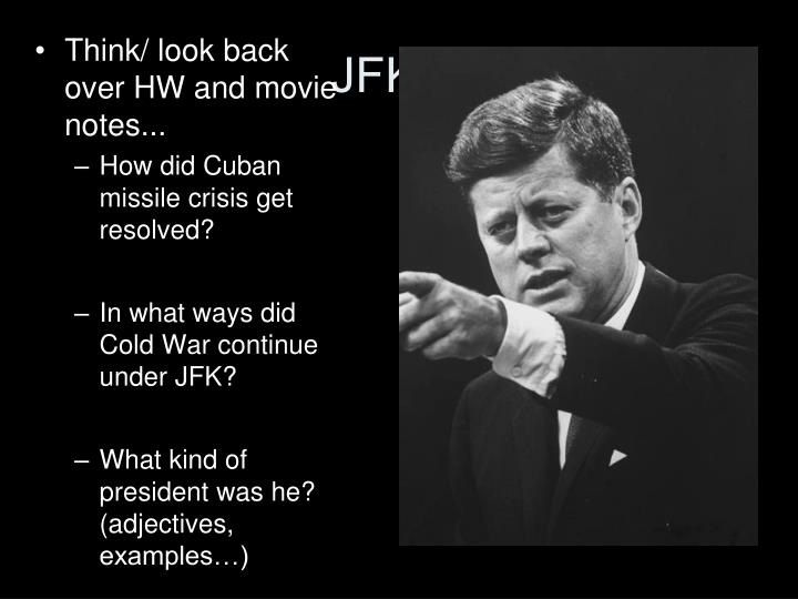 jfk in cuban missille crisis cold The cuban missile crisis, also known as the october crisis of 1962 (spanish: crisis de octubre), the caribbean crisis (russian: карибский кризис, tr karibsky krizis, ipa: [kɐˈrʲipskʲɪj ˈkrʲizʲɪs]), or the missile scare, was a 13-day (october 16-28, 1962) confrontation between the united states and the soviet union.