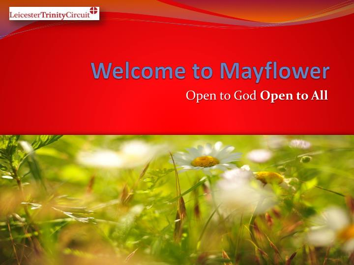 welcome to mayflower n.