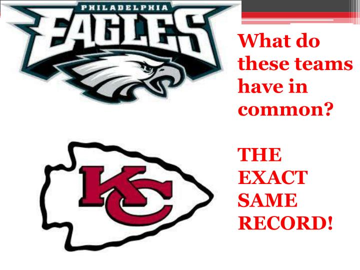 What do these teams have in common?