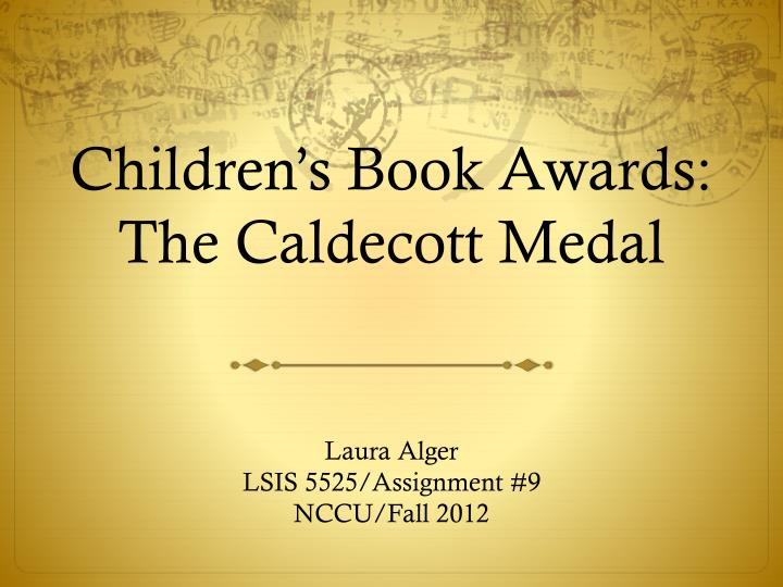 children s book awards the caldecott medal n.