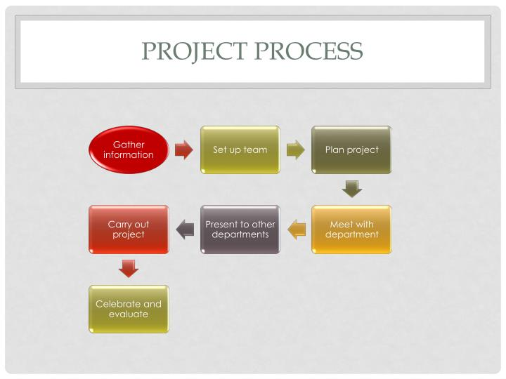 project process n.