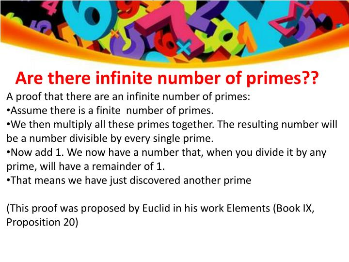 Are there infinite number of primes??