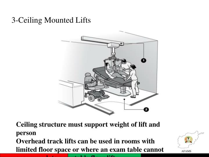3-Ceiling Mounted Lifts