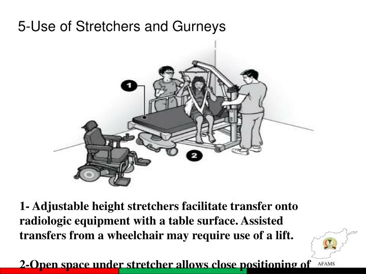 5-Use of Stretchers and Gurneys