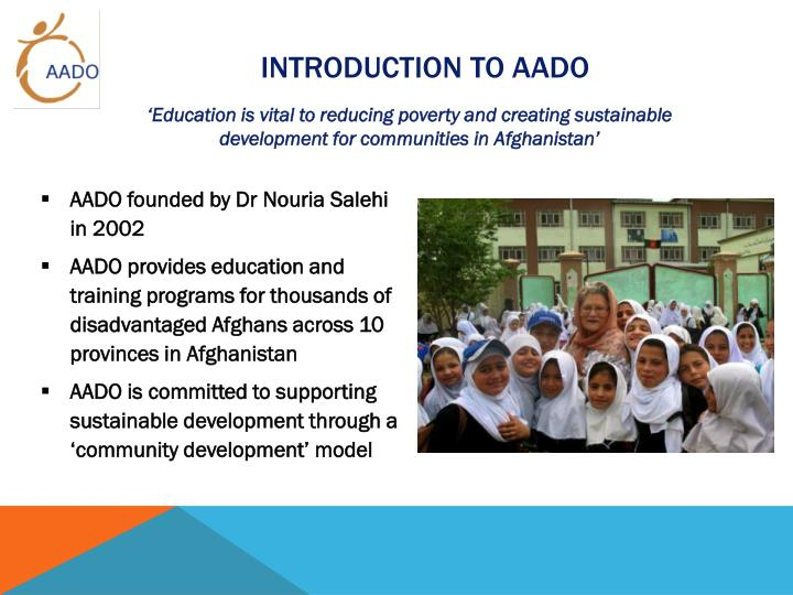 Introduction to aado