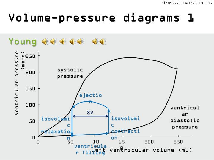 Volume pressure diagrams 1