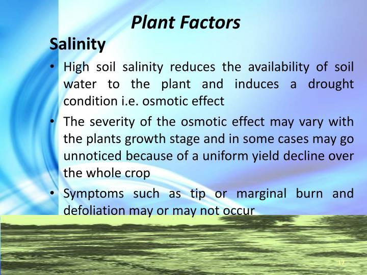 Plant Factors