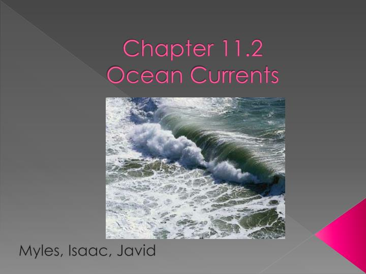 chapter 11 2 ocean currents n.