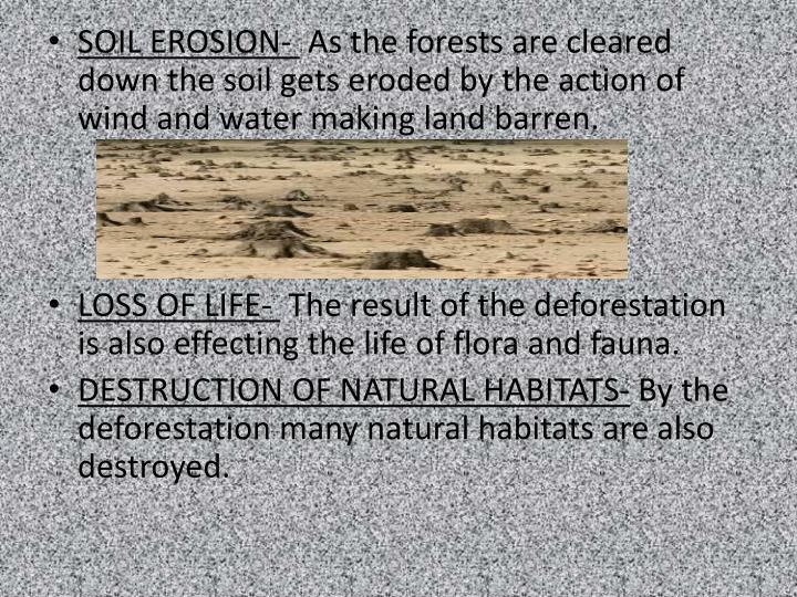 SOIL EROSION-