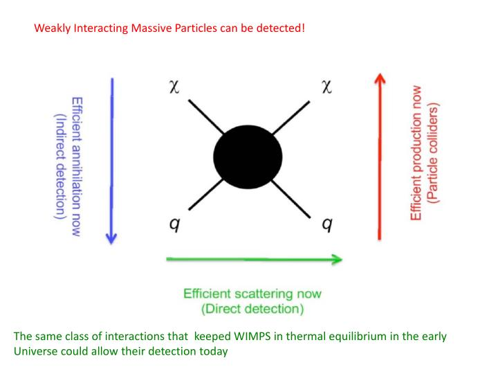 Weakly Interacting Massive Particles can be detected!