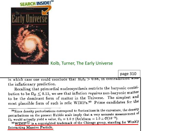 Kolb, Turner, The Early Universe