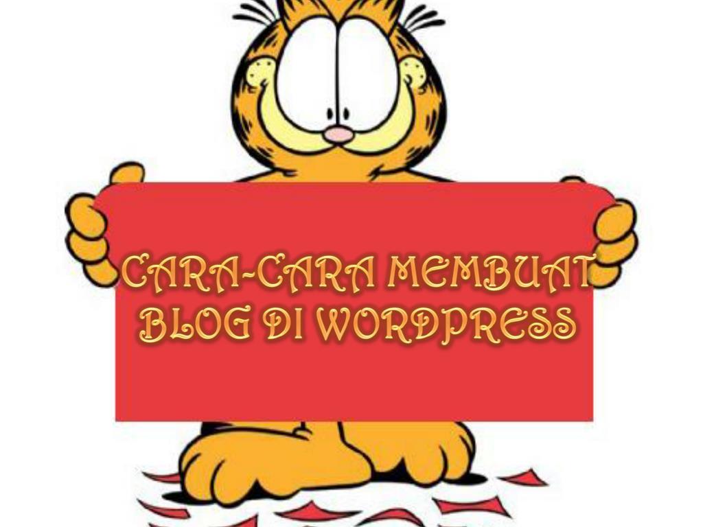 ppt cara cara membuat blog di
