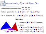 approximating mean field