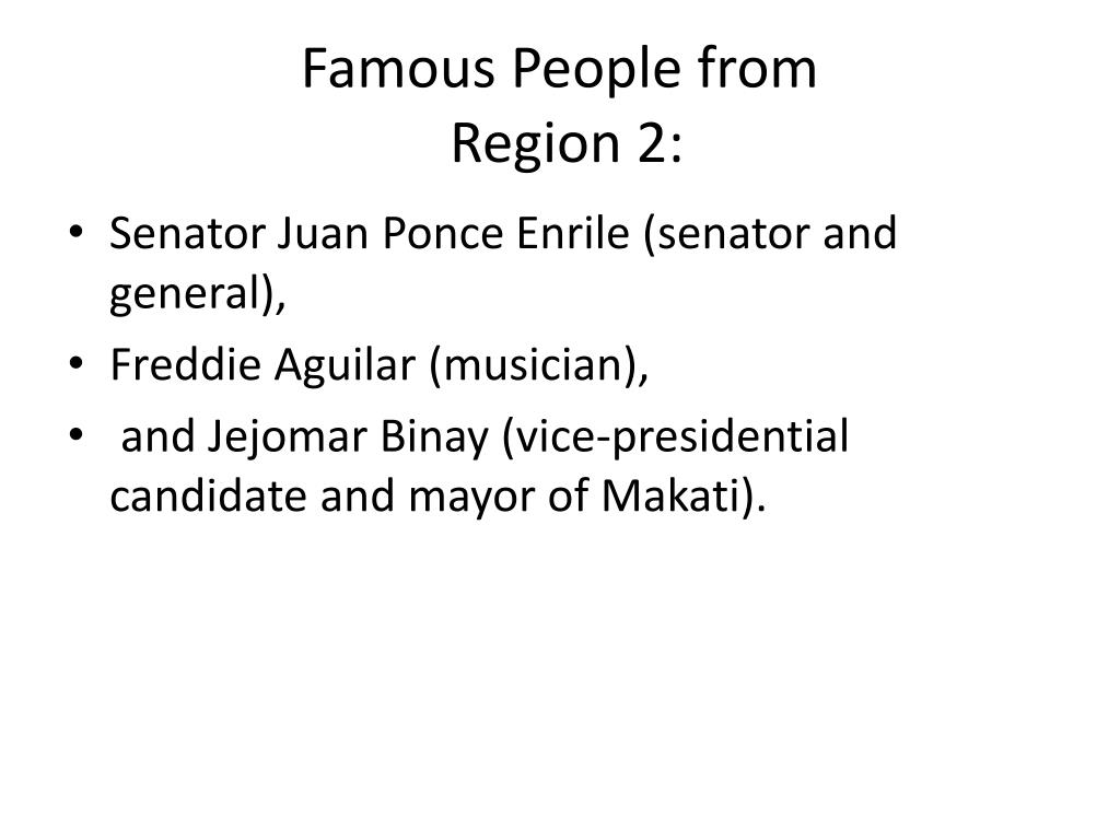PPT - Region II: Cagayan Valley PowerPoint Presentation - ID