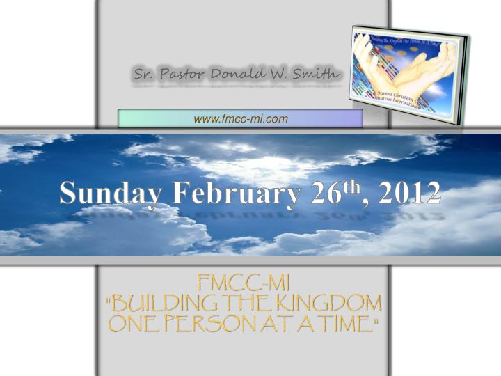 fmcc mi building the kingdom one person at a time n.