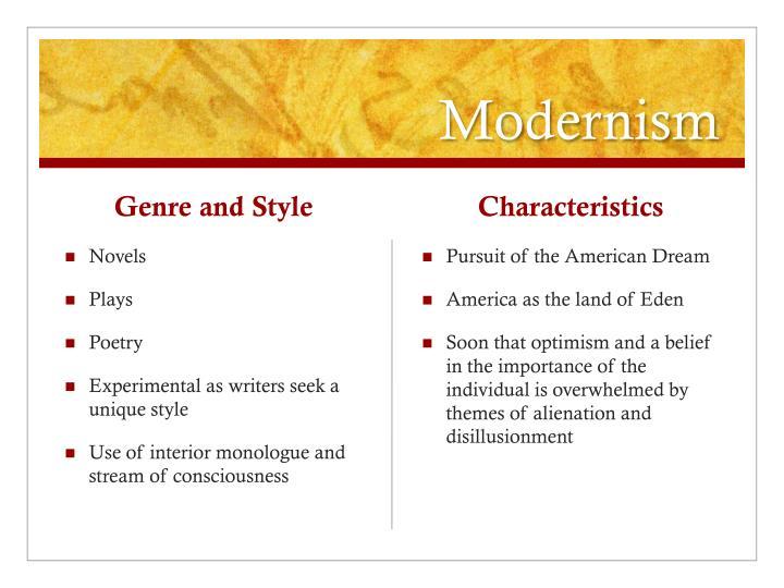 American Literature - Modernism (1914-1946) - YouTube |Modernism Novels