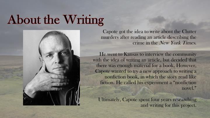 About the writing
