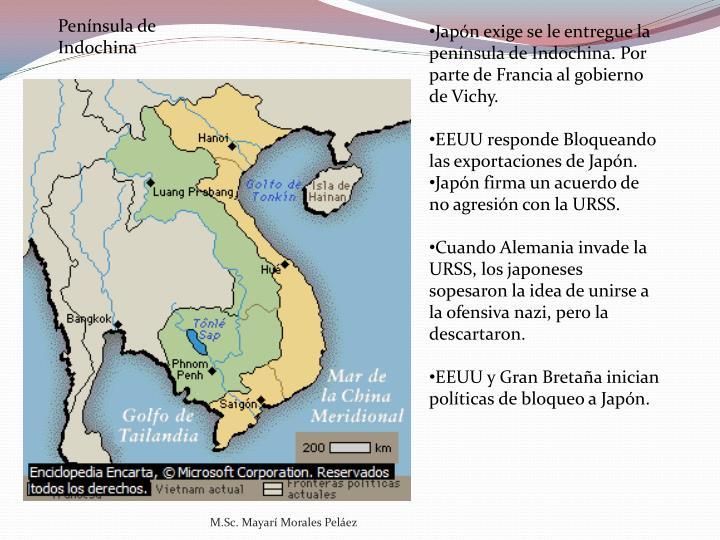 Península de Indochina