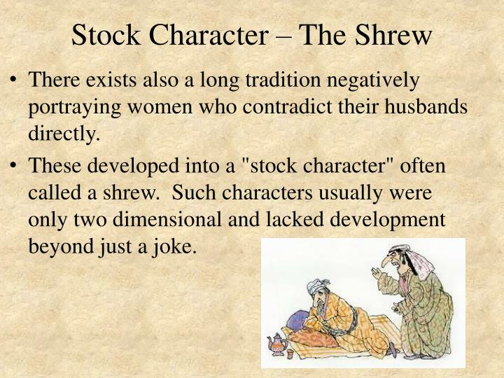 Stock Character – The Shrew