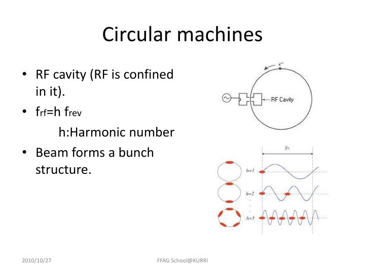 Circular machines