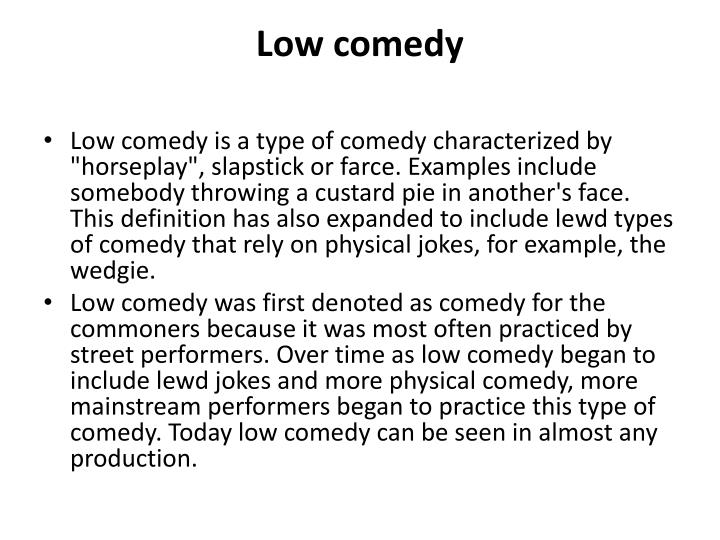 Ppt Comedy And Charlie Chaplin Powerpoint Presentation Id2294645
