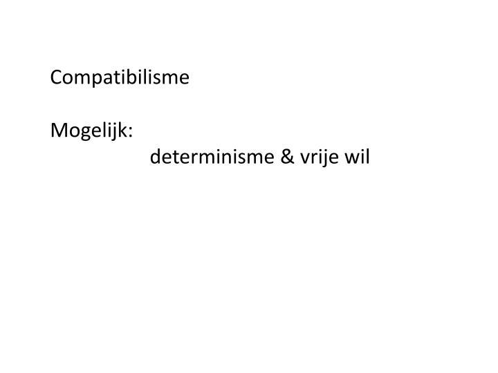 Compatibilisme