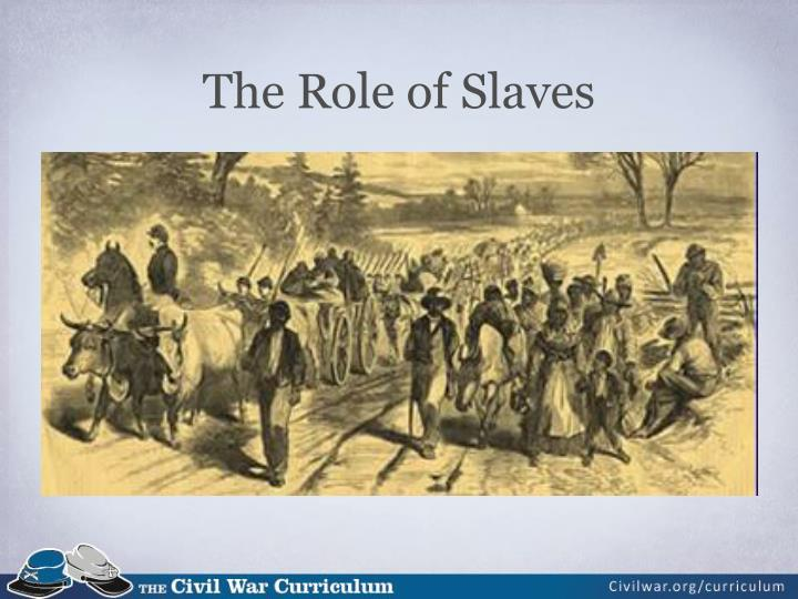 The Role of Slaves