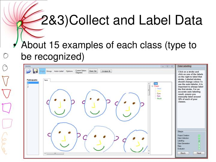 2&3)Collect and Label Data
