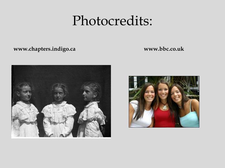 Photocredits: