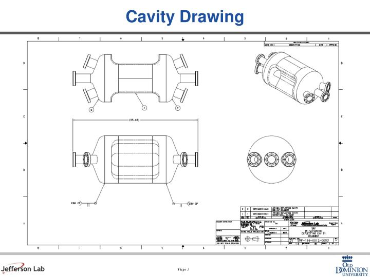Cavity drawing