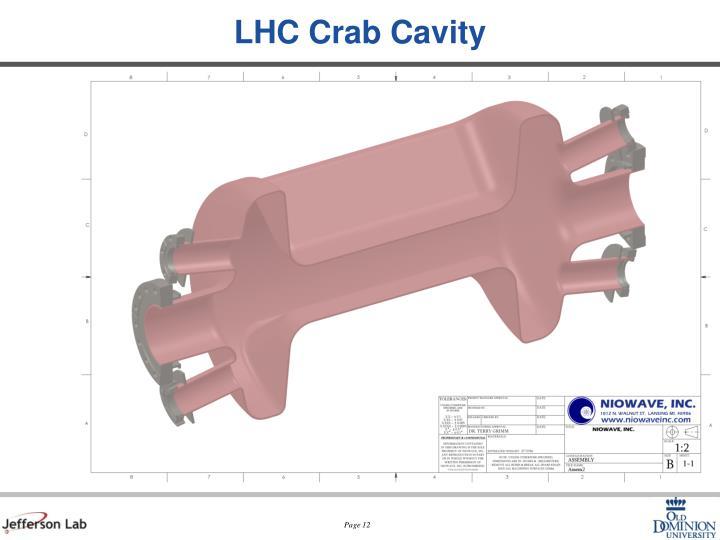 LHC Crab Cavity