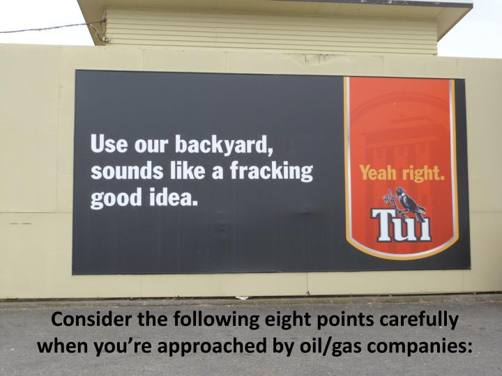 consider the following eight points carefully when you re approached by oil gas companies n.