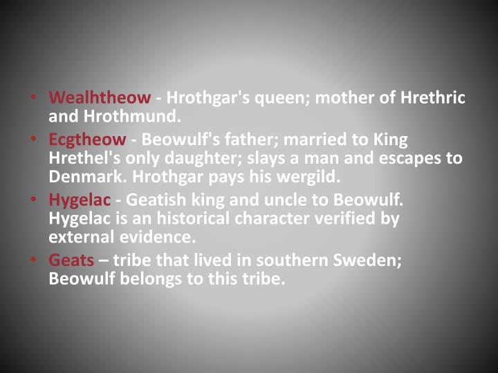 Wealhtheow