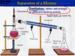 separation of a mixture1