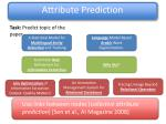 attribute prediction