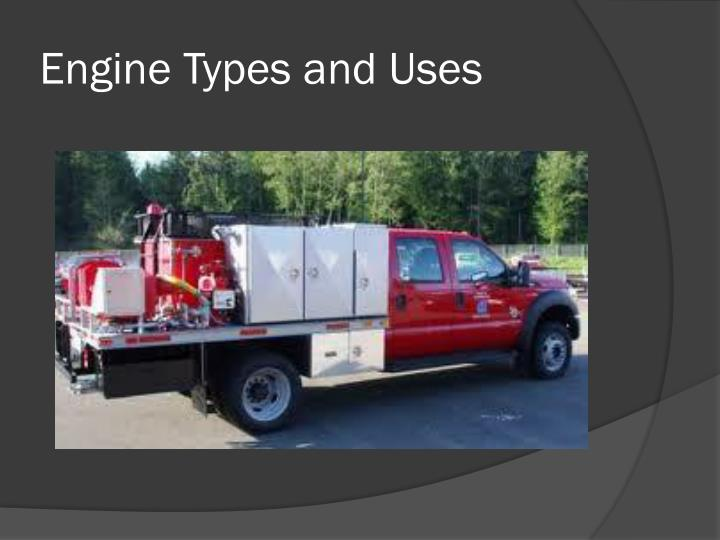 engine types and uses n.
