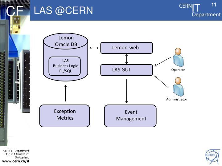 LAS @CERN